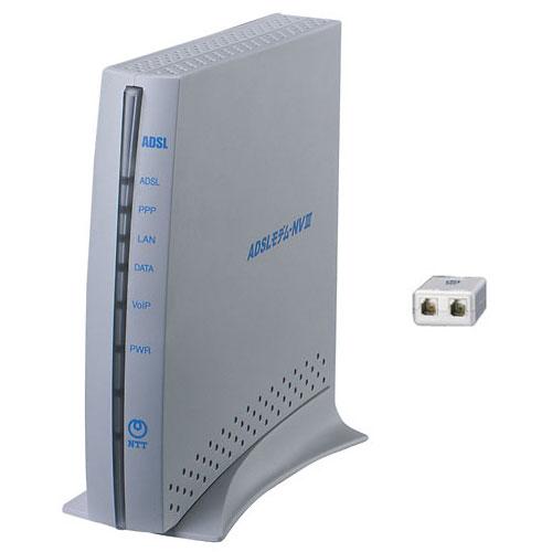 ADSLモデム-NVIII(IP電話対応) 拡大